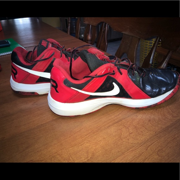 Air Mavin Red And Black Tennis | Poshmark